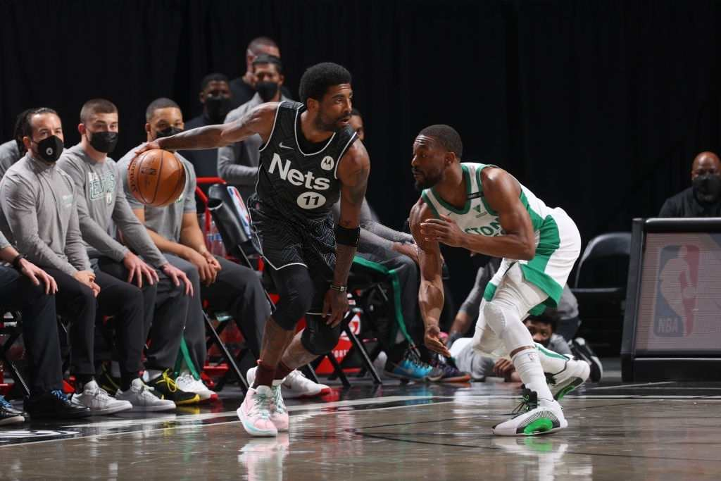 Kyrie Irving went off against the Boston Celtics