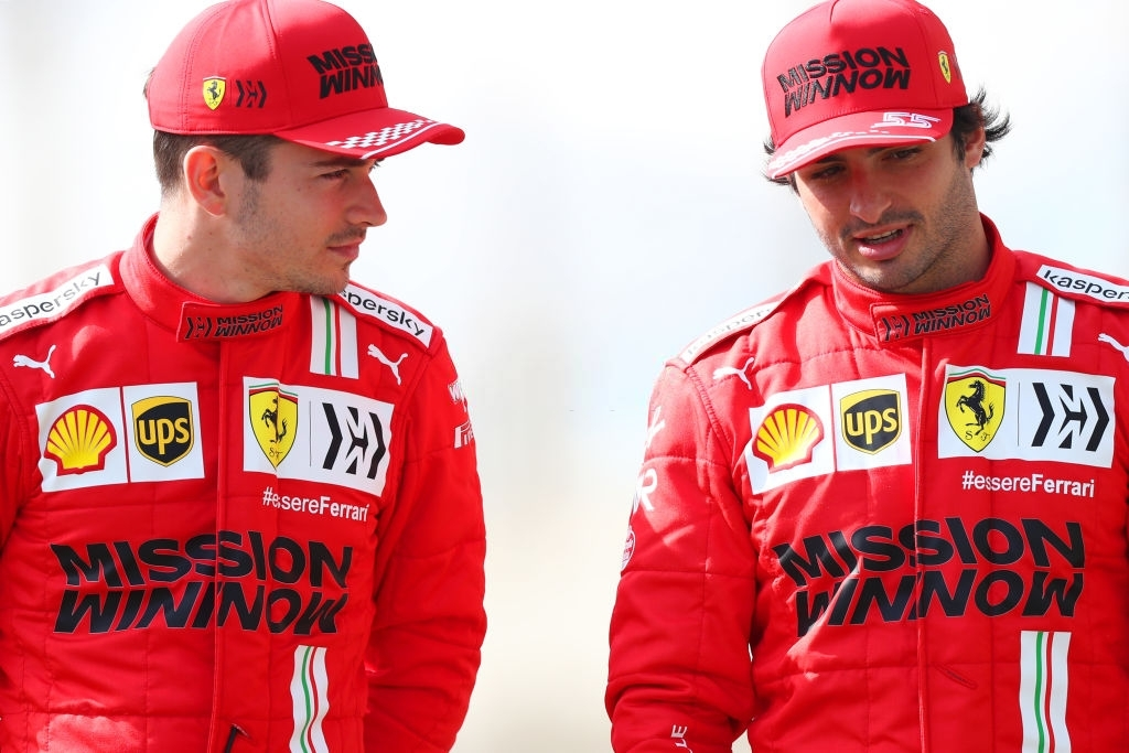 Charles Leclerc and Carlos Sainz managed to secure third fastest position during testing.