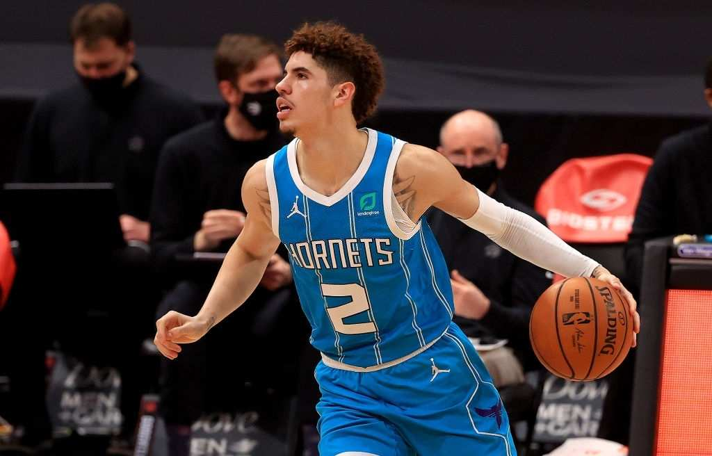 LaMelo Ball scored 23 points in the game against the Toronto Raptors