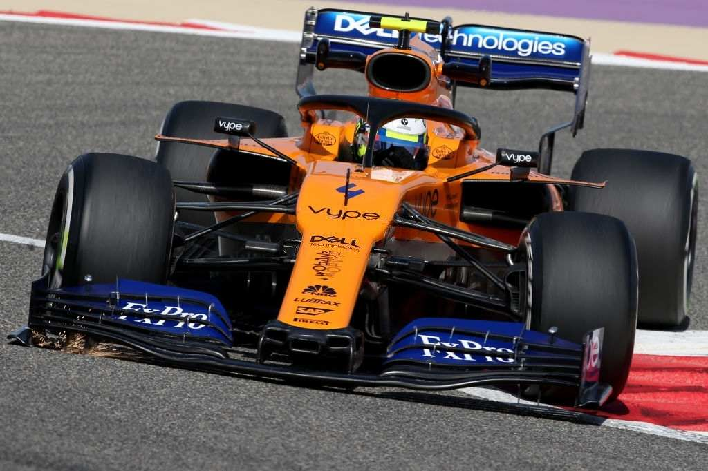 Lando Norris was excellent with the new McLaren MCL35M in practice session of the 2021 Bahrain Grand Prix.