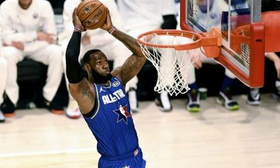 LeBron James will feature in the All-star game on Sunday