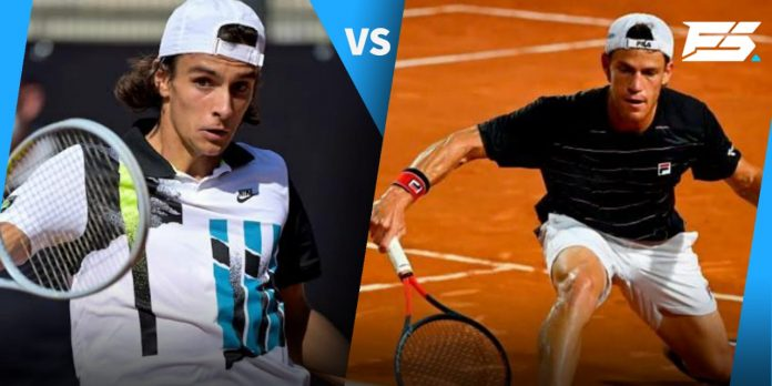 Lorenzo Musetti overcame a tough challenge from the much experienced Diego Schwartzman