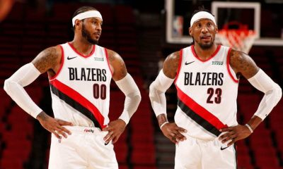 Damian Lillard commented upon the performances of Carmelo Anthony and Robert Covington against the Charlotte Hornets on Monday night