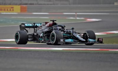 Mercedes claims to further improve their new W12 prior to the 2021 Emilia Romagna GP.