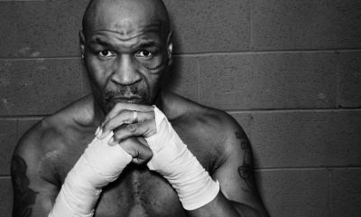 Former professional boxer Mike Tyson is photographed for Haute Living magazine on October 29, 2020 in Las Vegas