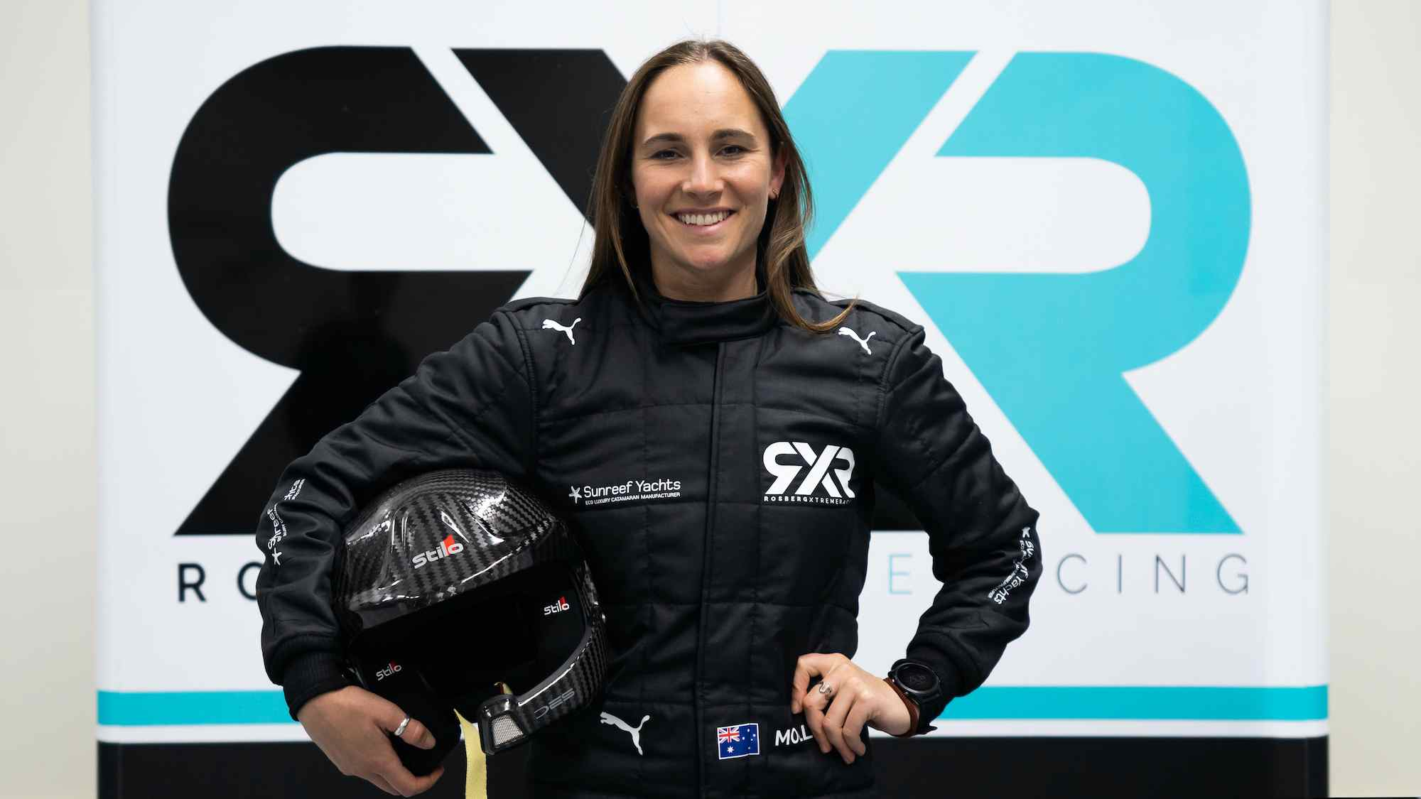 Nico Rosberg is proud to have Molly Taylor in his Extreme E team.