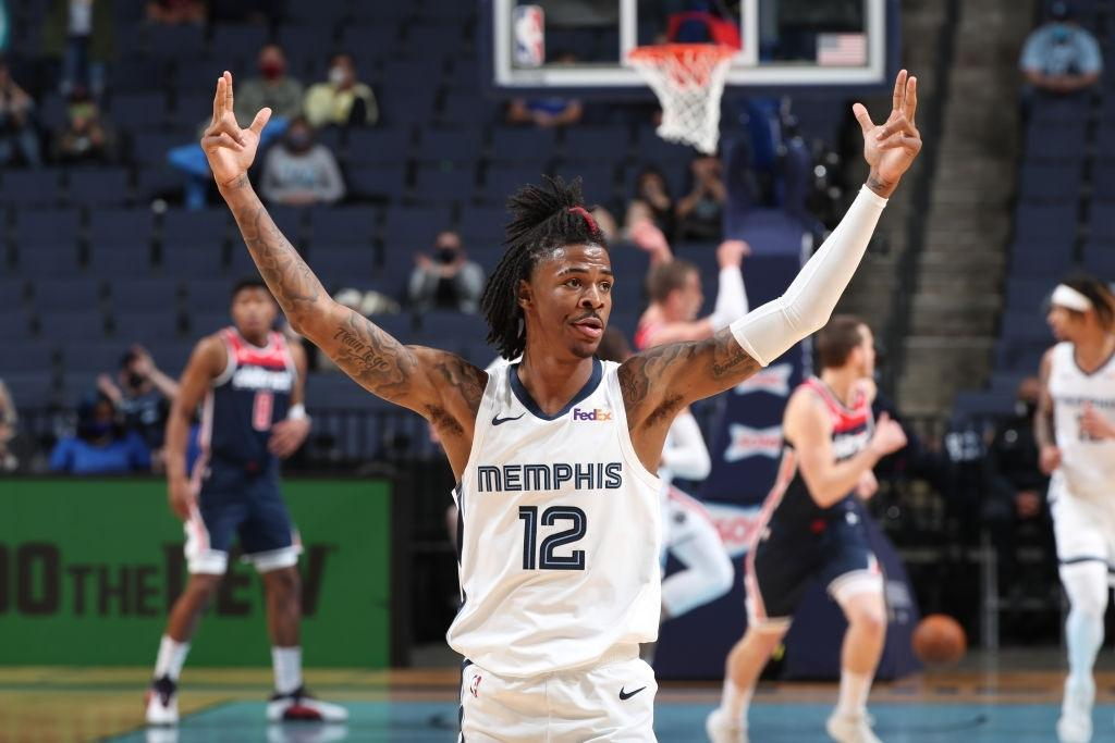 Ja Morant is one of the best point guards playing in the league at the moment.