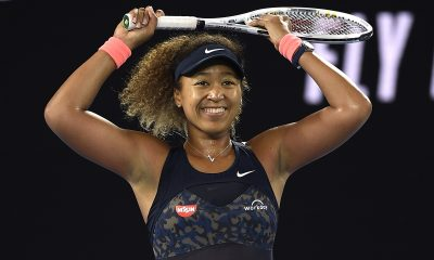 Naomi Osaka mentioned losing to her older sister during their younger days.