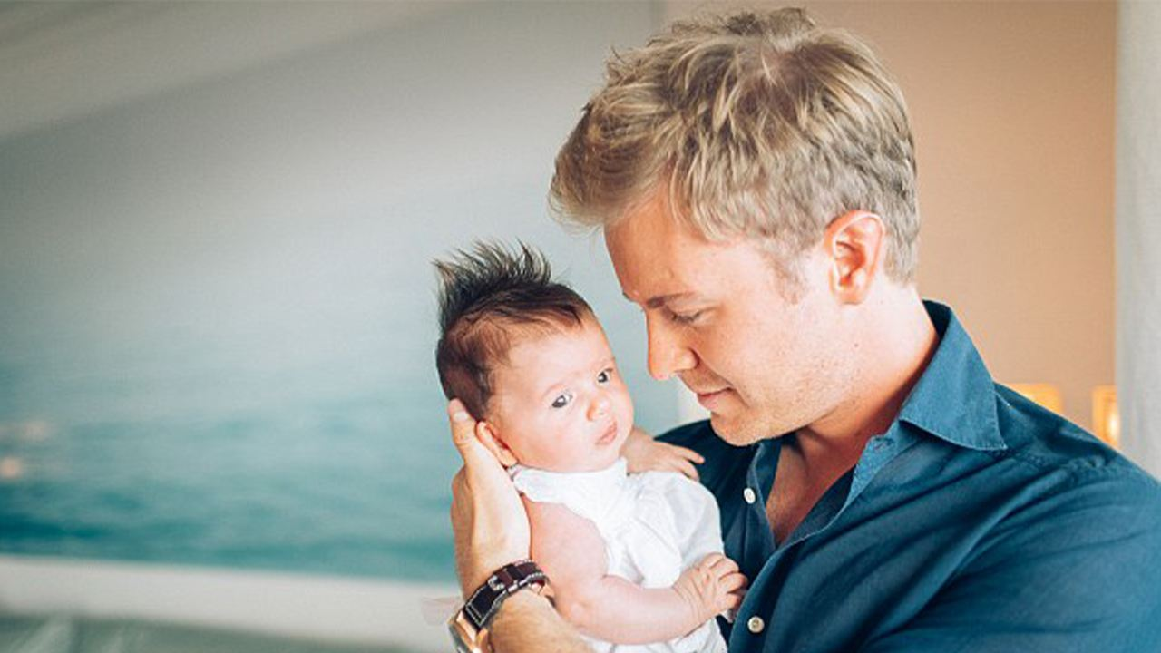 Nico Rosberg is a proud girl dad and so promotes gender equality in motorsport.