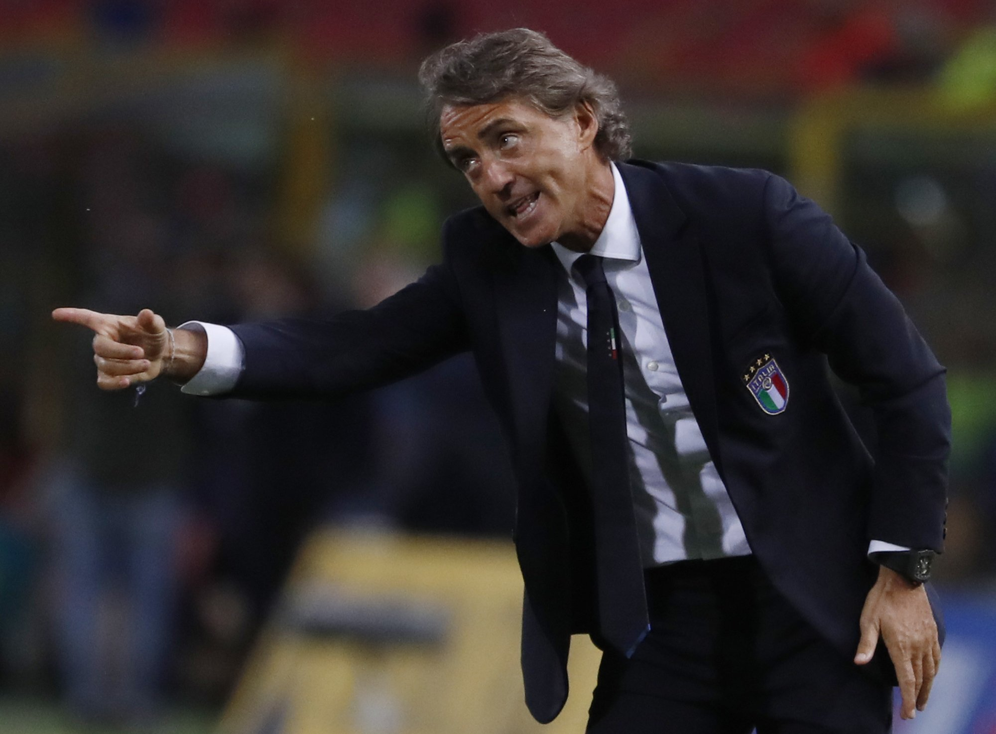 Roberto Mancini has achieved an astonishing win percentage of 69% that stands highest among all the previous Italy managers