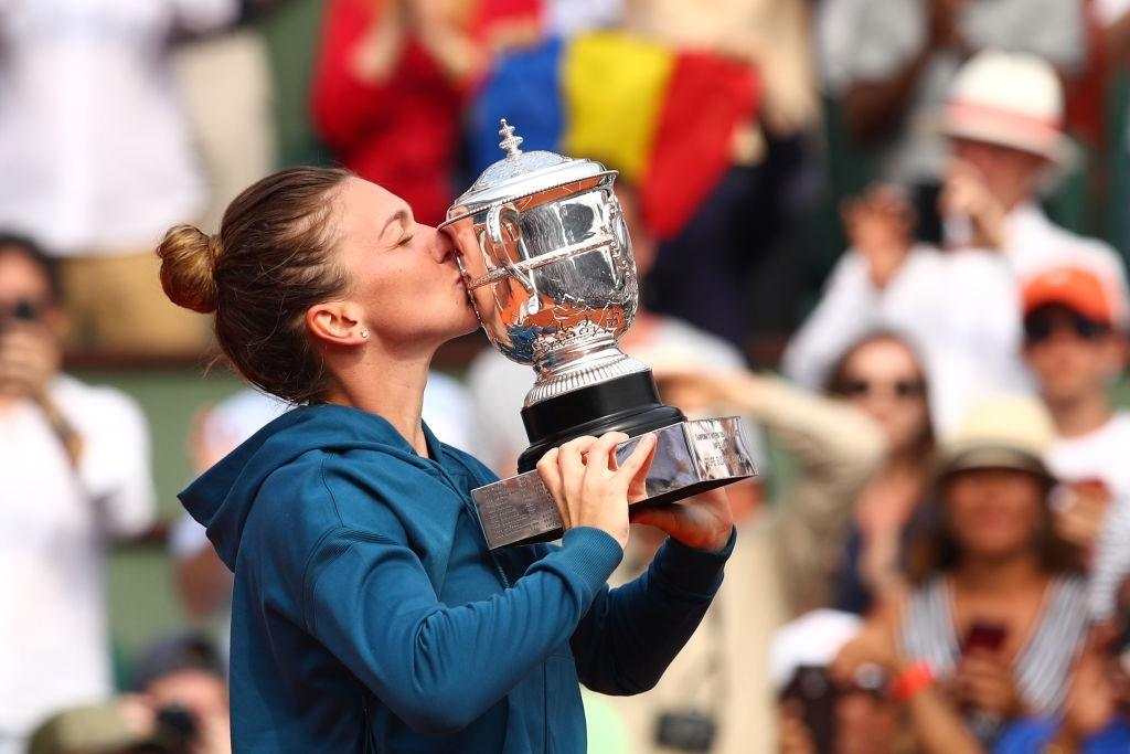 Simona Halep won the French Open title in 2018.