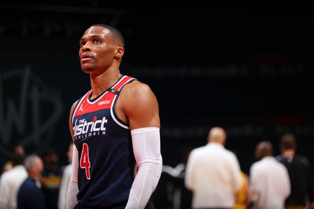 Russell Westbrook scored his 16th triple-double of the season.