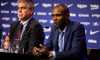 "Former Barcelona secretary Eric Abidal confesses he was Non-political to ""get rid of"" the Barcelona Coach Pep Guardiola"