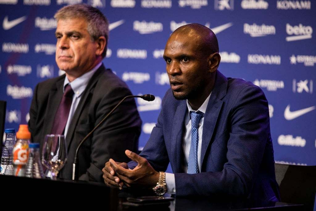 """Former Barcelona secretary Eric Abidal confesses he was Non-political to """"get rid of"""" the Barcelona Coach Pep Guardiola"""