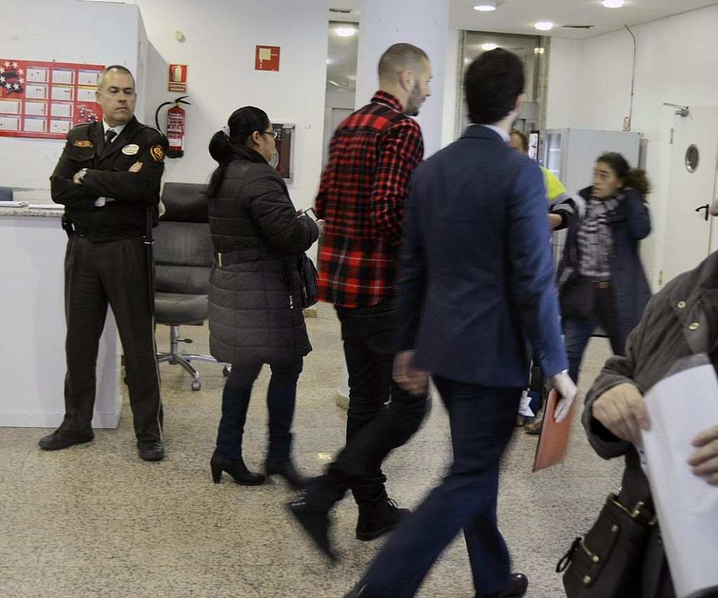 Real Madrid football player Karim Benzema attends court (Photo by Europa Press/Europa Press via Getty Images)
