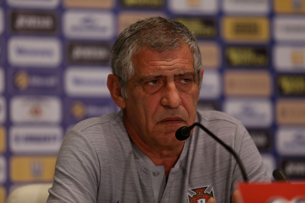 """""""The referee apologised to me"""" portugal coach Fernando Santos opens up with the true verdict after Ronaldo Goal refusal"""