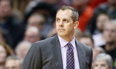 Lakers head coach Frank Vogel