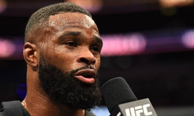 Tyron Woodley is feels vexed after Paul leaked his phone number