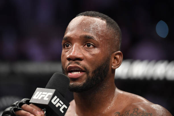Leon Edwards show support to Meghan