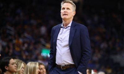 Golden State Warriors coach Steve Kerr