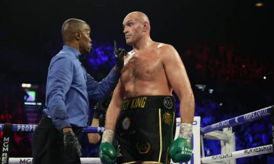 Tyson Fury calls the fight between Tommy and Jake an even fight.