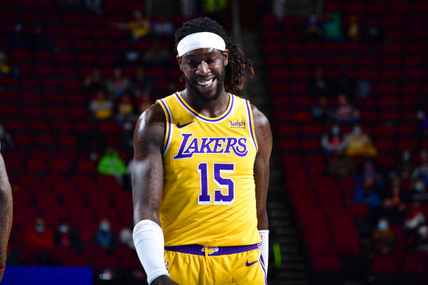 Montrezl Harrell of the Los Angeles Lakers