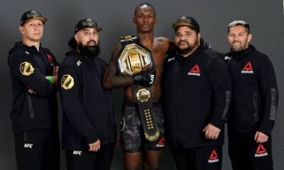 Israel Adesanya's coach breakes the silence after his fight.