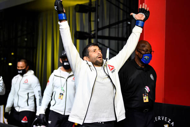 Beneil Dariush talked about the importance of sparring partners.