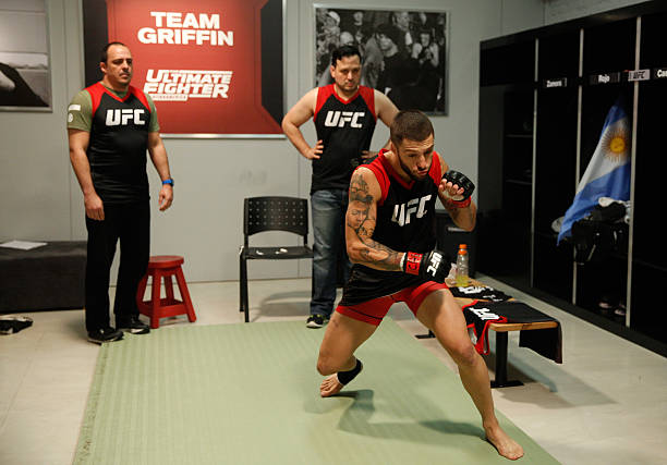 Marcelo Rojo is ready for his UFC debut this saturday.