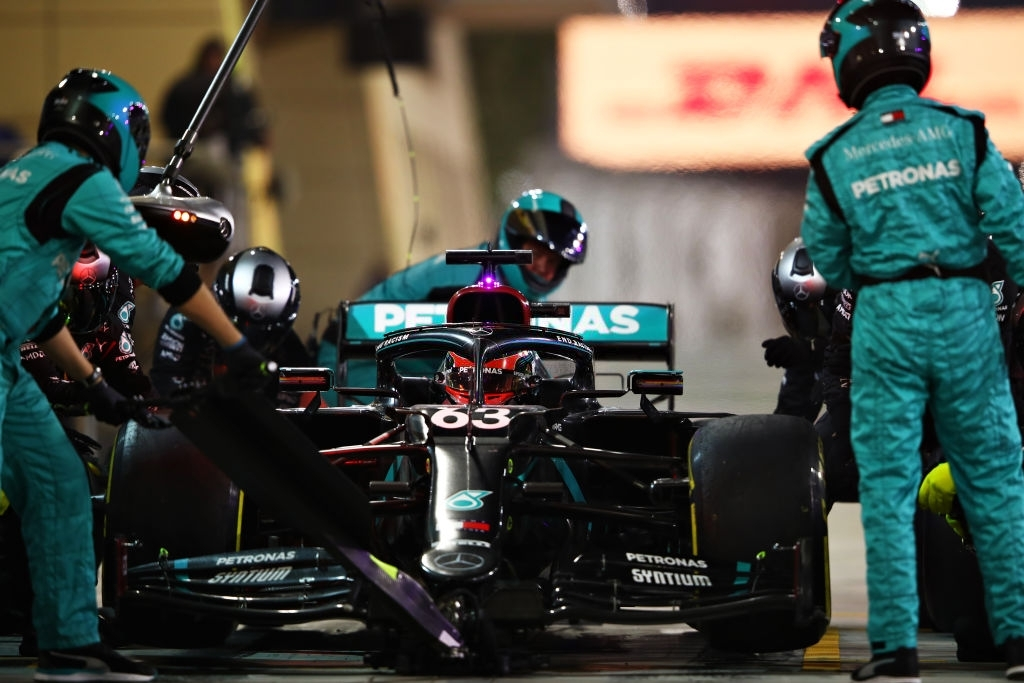 George Russell might replace Lewis Hamilton in the upcoming season.