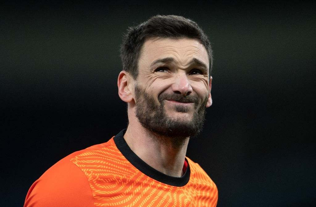 Goalkeeper Hugo Lloris of Tottenham Hotspur during the UEFA Europa League Round of 16 First Leg match with Dinamo Zagreb(Photo by Visionhaus/Getty Images)