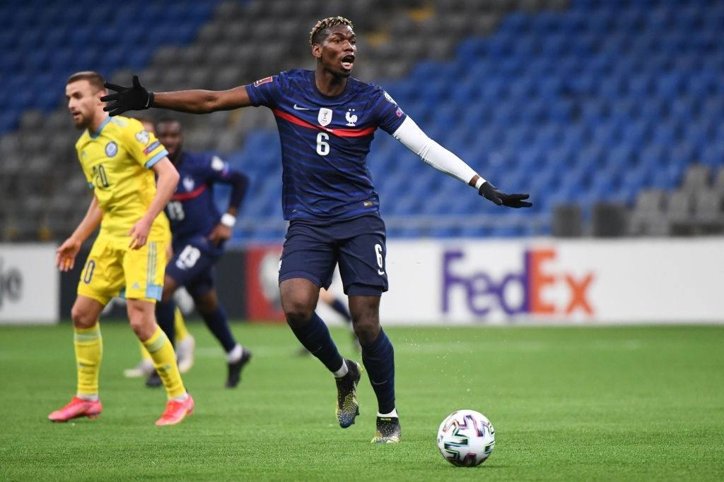 Paul POGBA of France (Photo by Anthony Dibon/Icon Sport via Getty Images)