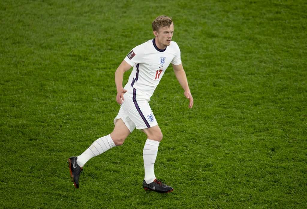 James Ward-Prowse of England (Photo by Eddie Keogh - The FA/The FA via Getty Images)