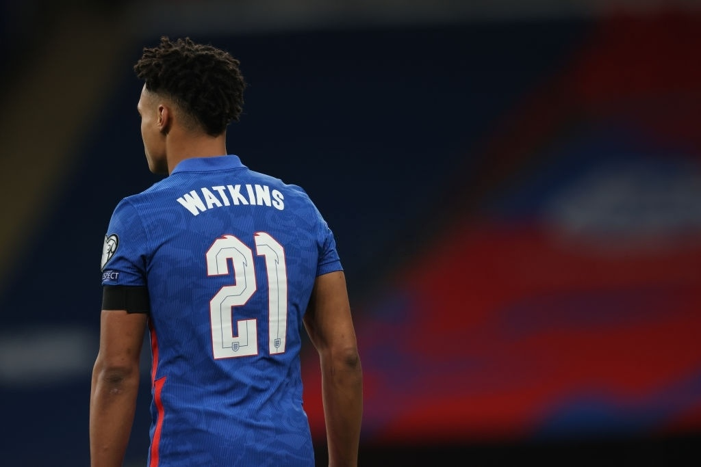 Ollie Watkins of England (Photo by Matthew Ashton - AMA/Getty Images)