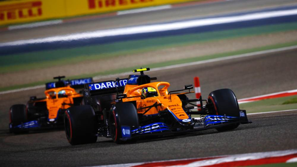 Daniel Ricciardo and Lando Norris are driving for McLaren F1 in the 2021 Formula One.