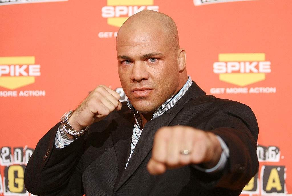 Kurt Angle during Spike TV's 2006 Video Game Awards - Arrivals at The Galen Center in Los Angeles, California,