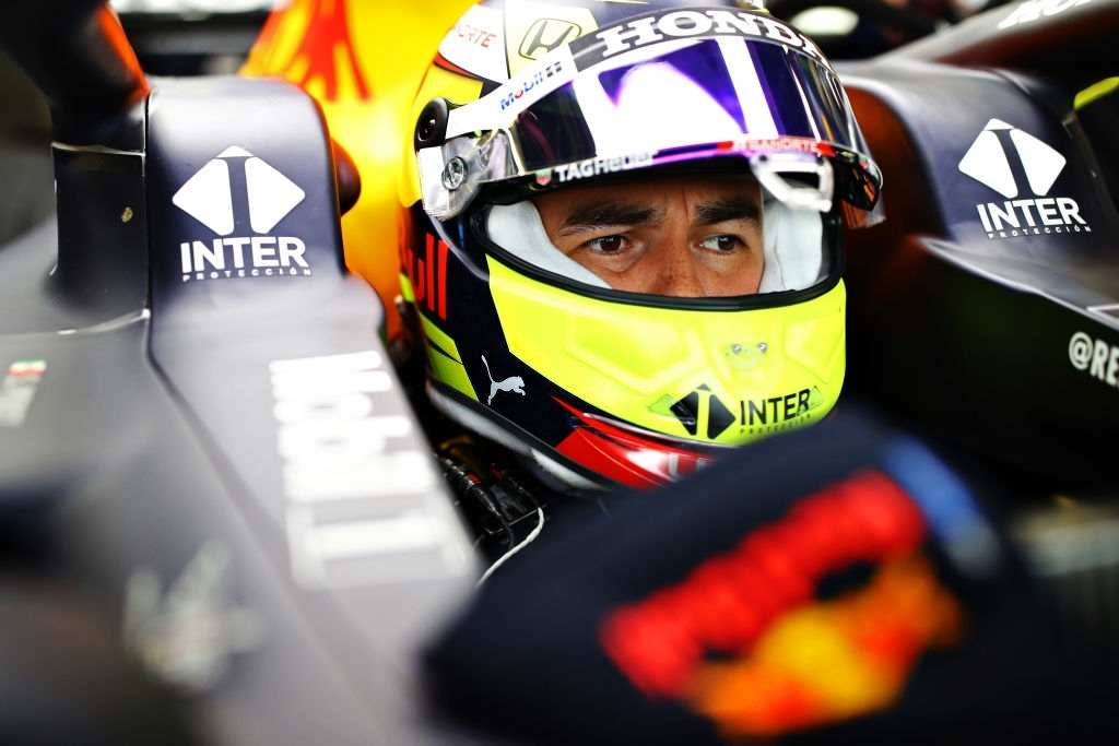 Sergio Perez is driving for the Red Bull Racing in the 2021 calendar of Formula One.
