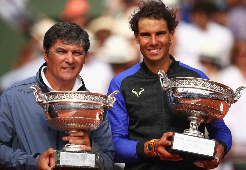 Toni Nadal, the driving force behind Rafael Nadal is net to train the 20-year-old Felix Auger-Aliassime.