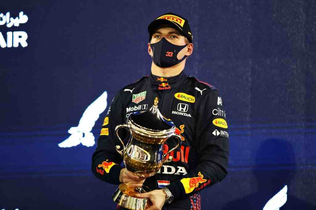 Max Verstappen of the Red Bull finished P2 at the Bahrain Grand Prix.