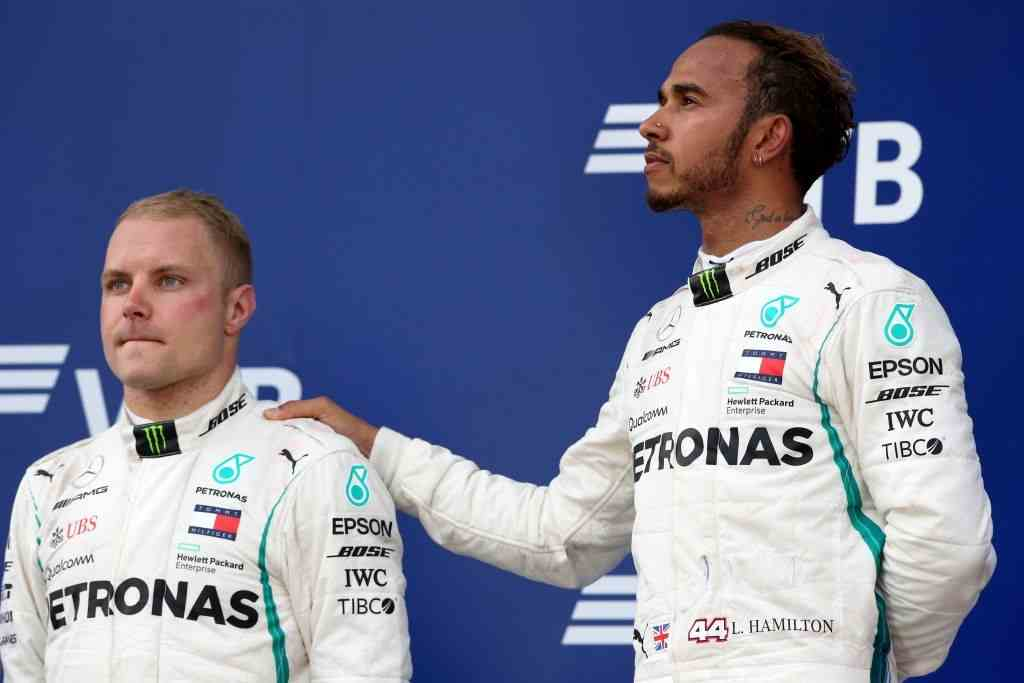 Valtteri Bottas of Mercedes AMG F1 thought about quitting Formula One after being forced to finish P2 at the Russian Grand Prix at the Sochi Autodrom on September 30, 2018.