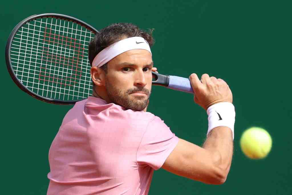 Grigor Dimitrov of Bulgaria was happy to play in Monaco with his toothache in the third round of Monte Carlo Masters against Rafael Nadal of Spain.