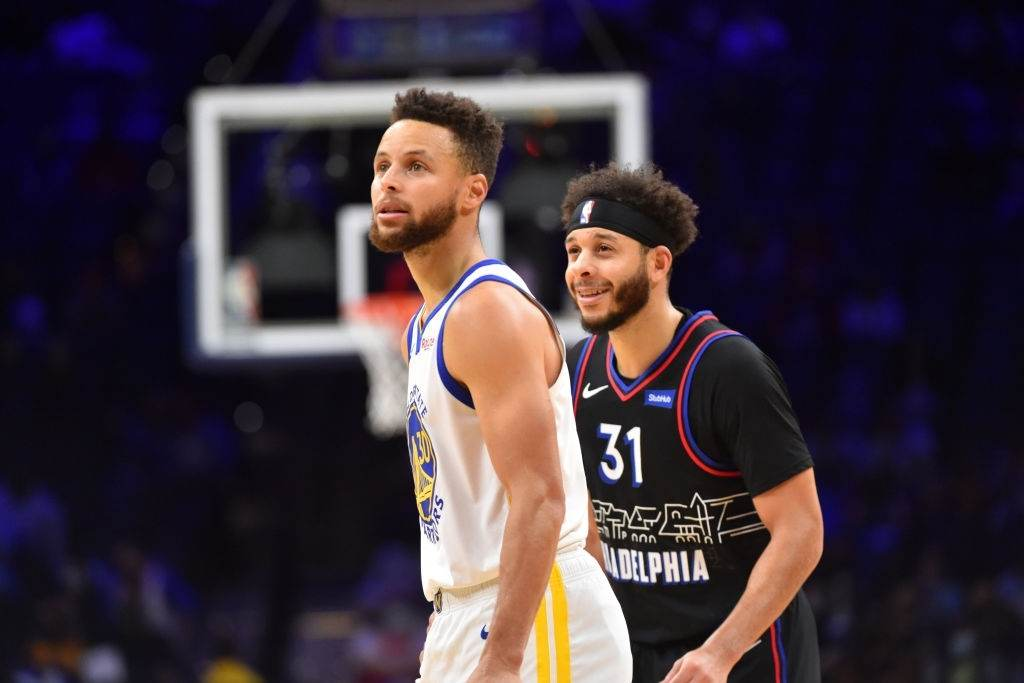 Steph Curry and Seth Curry