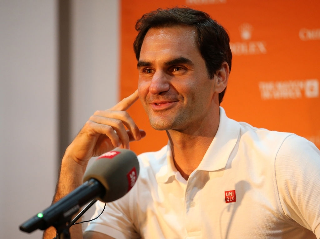 Roger Federer brought up the idea of a possible merge.
