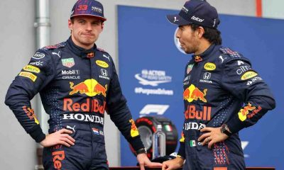 Sergio Perez, the Red Bull Racing driver talks about his new teammate Max Verstappen.
