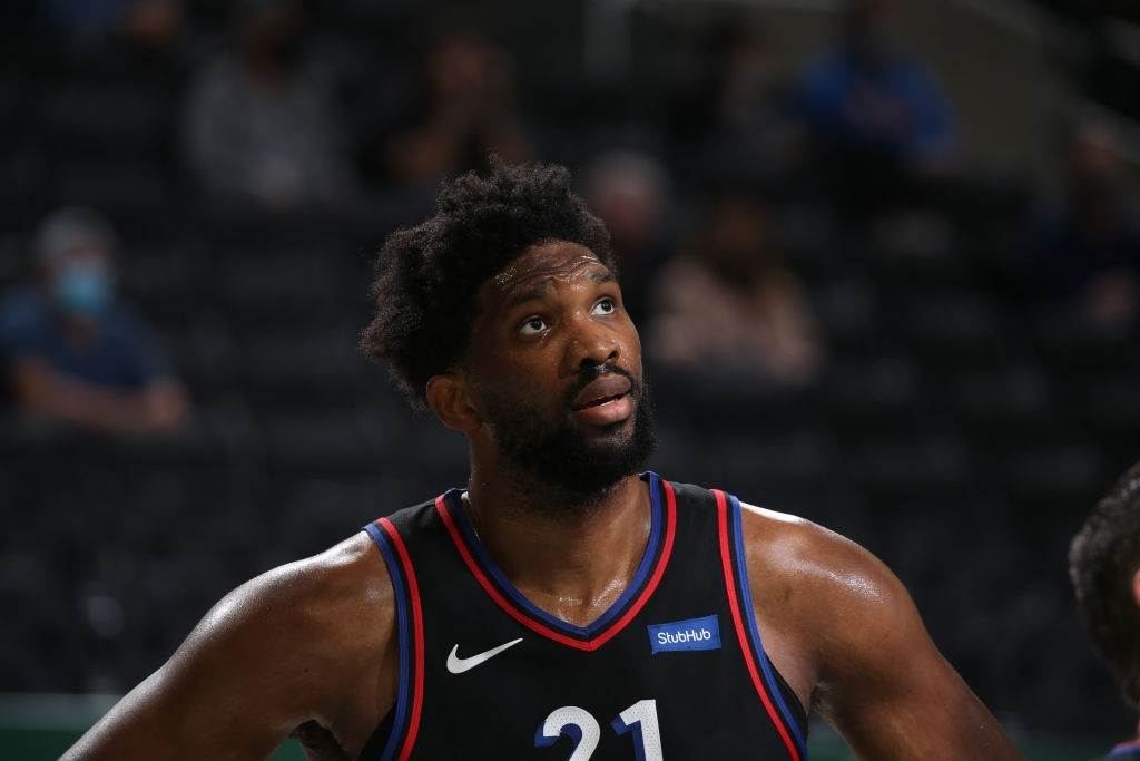 Joel Embiid was picked by Shaquille O'Neal as the MVP this season