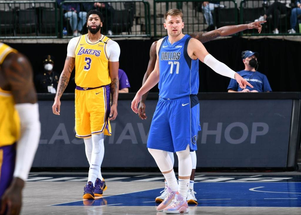 Luka Doncic for the Dallas Mavericks, a team that is owned by Mark Cuban