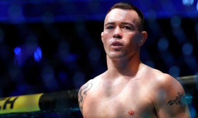 Colby Covington prepares for his fight against UFC welterweight champion Kamaru Usman during UFC 245 at T-Mobile Arena on December 14, 2019 in Las Vegas, Nevada.