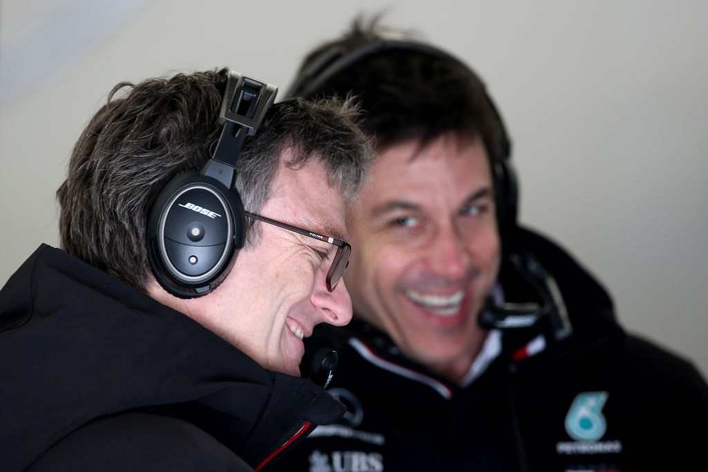 Toto Wolff, the Team Principal of Mercedes AMG F1 believes his team still needs the support of James Allison.