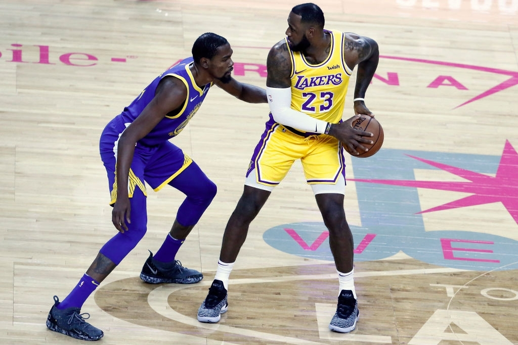 LeBron James and Kevin Durant