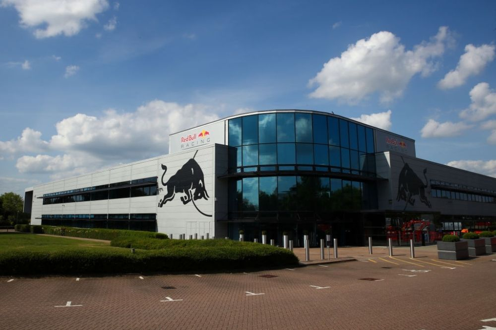 Red Bull Racing Headquarter.